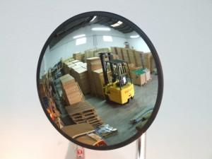 espejos de vigilancia en cristal